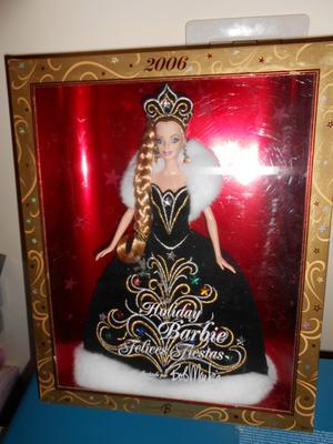 Holiday Barbie  Bob Mackie