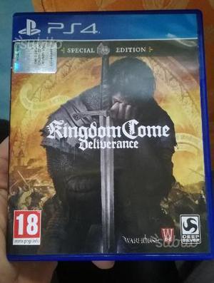 Kingdom Come Deliverance Playstation 4 Ps 4 PRO
