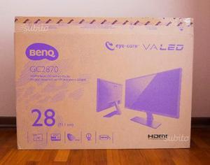 """Monitor PC 28"""" BenQ GC full hd COME NUOVO"""