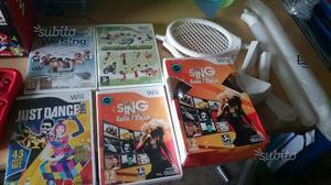 Nintendo wii con 4 giochi + Karaoke con 2 microfon
