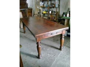 Bancone In Legno Costruito Artigianalmente : Bancone tavolone in legno massello posot class
