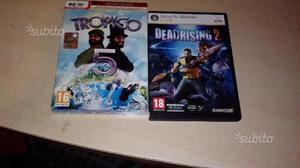 Videogiochi Tropico 5 e Dead Rising 2 per PC