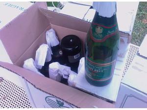Bottiglie per imbottigliamento vino