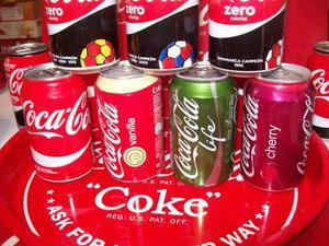 Coca Cola lattine da collezione
