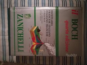 """Dizionario di francese """"Il Boch"""""""