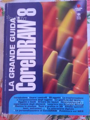 Libro La grande guida Corel Draw 8