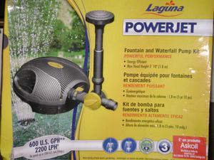 Pompa giochi d39acqua fontane cascate stagni posot class for Pompa per laghetto