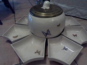 Antipastiera per cena fredda in ceramica