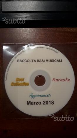 Basi musicali karaoke professionali