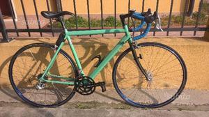 Bicicletta uomo da corsa telaio alluminio