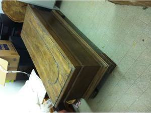 Cassapanca baule anni 3950 vintage legno posot class for Cassapanca anni 50