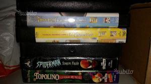 Cassette VHS grandi classici Disney e altro