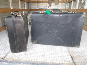 Coppia di valige vintage modernariato anni