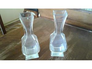Ivv sia coppia di vasi in cristallo posot class for Vasi baccarat
