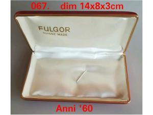 Fulgor scatola box per orologio Anni 60