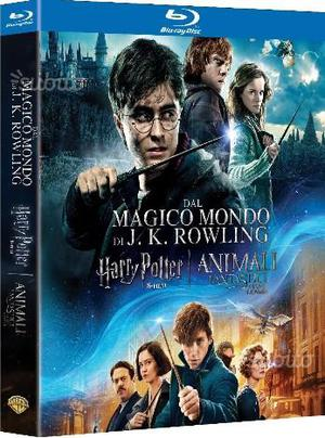 Harry potter collection blu ray