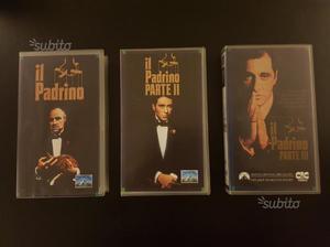 Il Padrino I, II, III Trilogia Film VHS Originale