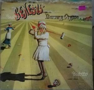 LP 33giri, Genesis, Nursery Cryme