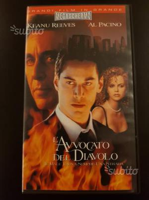 L'avvocato del Diavolo -  - Film VHS Originale