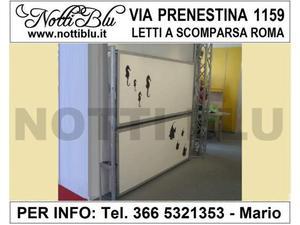 Letti a Scomparsa Roma _ Letto VE561 Via PRENESTINA