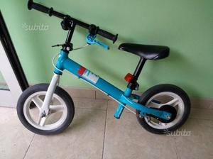 Prima bici bimbo senza pedali