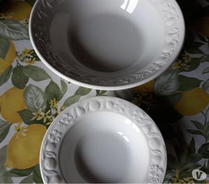 Servizio per macedonia nuovo, in ceramica, 13 pezzi