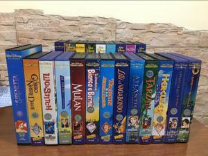 Videocassette VHS WALT DISNEY originali