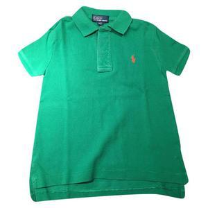polo verde bambino, 3 anni