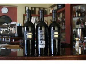 6 bottiglie primitivo di manduria d.o.p. vitigno 60 anni
