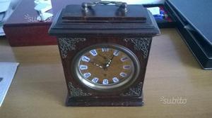 Antico orologio sveglia wehrle anni 40 made in posot class - Orologio da tavolo antico ...