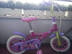 """Bici Bambina 12"""" Disney Minnie"""