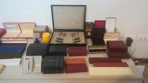 Collezione di Scatole box astucci per orologi