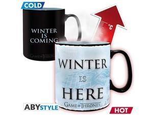 GAME OF THRONES - Mug Heat Change - 460 ml - Winter is here