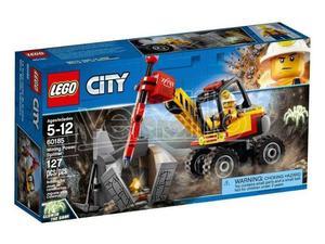 LEGO  CITY MINIERA - SPACCAROCCIA DA MINIERA
