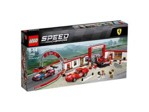 Lego  speed champions: garage ferrari