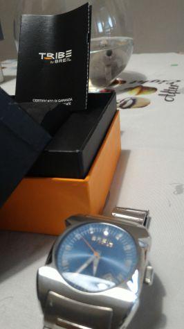 Orologio da Polso Tribe Breil Blu con cinturino in metallo