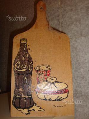 Tagliere Salumi e Formaggi Coca Cola By Valsecchi