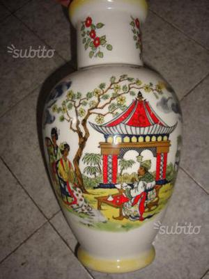 Vaso cinese preziosa e antica fattura