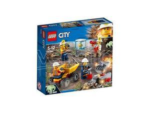 LEGO  CITY MINIERA - TEAM DELLA MINIERA