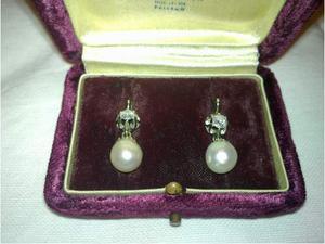 Orecchini con Perle e Brillanti