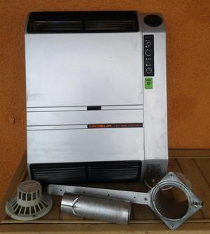 Stufa a gas gpl ventilconvettore ROBUR EV
