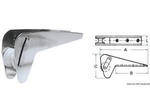Musone speciale inox per Bruce/Trefoil max 20 kg