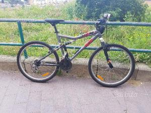 Bicicletta mtb mountain bike ROCKRIDER full 26""