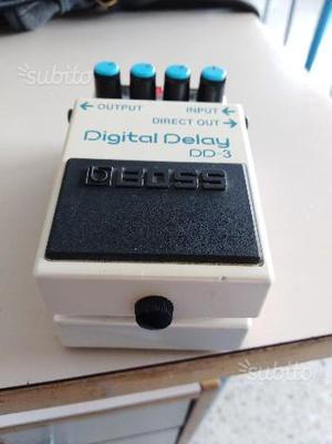 Boss dd3 digital delay Pedale per chitarra