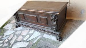 Cassapanca antica in legno