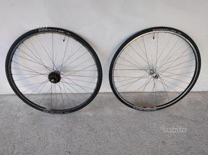 Coppia cerchi bici da corsa copertoncino