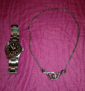 Orologio da donna e catenina Brosway