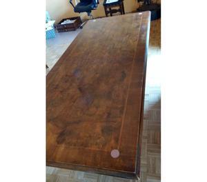 Scrivania Tavolo in legno di rovere