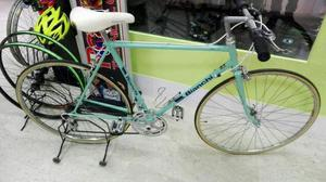 Bicicletta bianchi record city bike