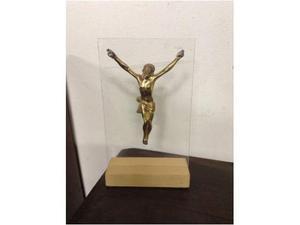 Bronzo dorato (scultura Cristo)